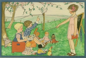 children-playing-school