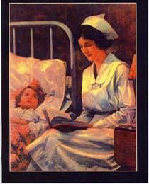 nurse bedside