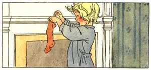 child stocking