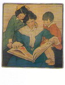 mother reading children jwsmith
